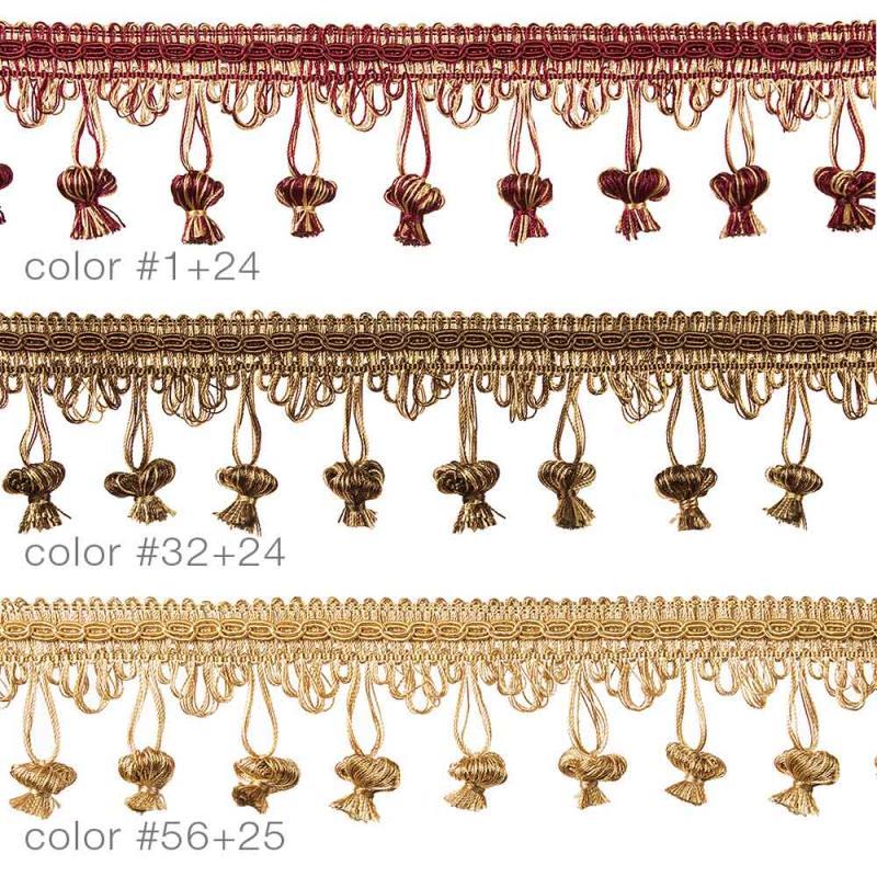 5564 Бахрома декоративная шторная_1