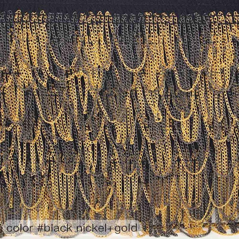 5585 Тесьма декоративная с цепочками