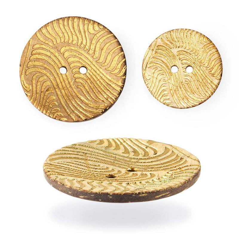 #10039 пуговица пальтовая из кокоса
